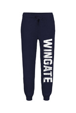 MV Sport Ladies Navy Peace Fleece Organic Jogger Wingate