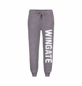 MV Sport Ladies Grey Peace Fleece Organic Jogger Wingate