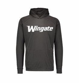 MV Sport Grey Sunproof Drifit  Wingate LS Hoodie Tee