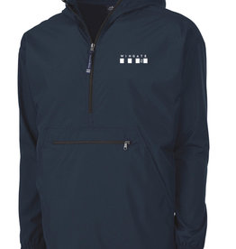 Charles River Navy Pack and Go Pullover