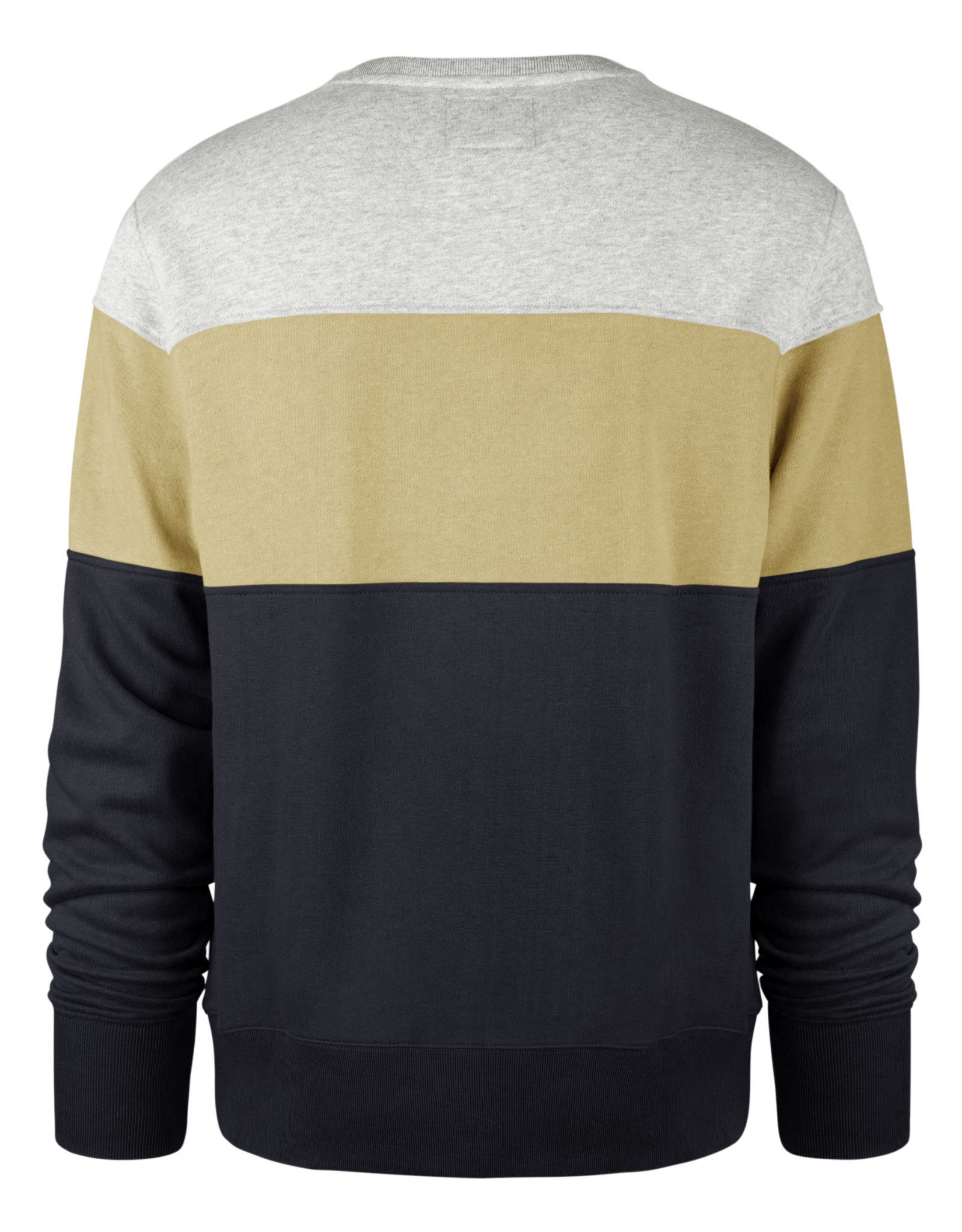 47 Brand Grey Vegas Navy CoEd Interstate Crewneck