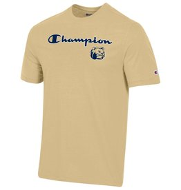 Champion Vegas Gold Super Fan Champion Dog Head SS Tee