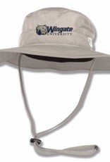 Tan Boonie Hat Dog Head Wingate University