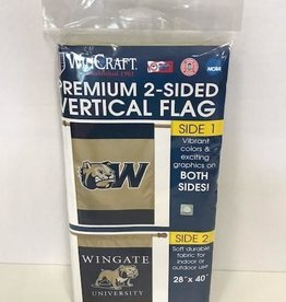 """28"""" x 40"""" Navy Gold Flag 2 Sided"""