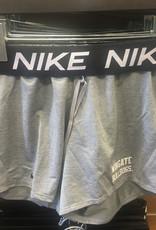 Nike Grey Attack Drifit Roll Down Waist Shorts