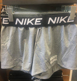 Nike Grey Attack Drifit Roll Down Waist Shorts