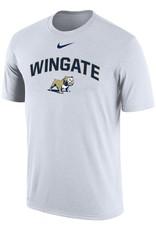 Nike Unisex White Wingate Standing Dog Drifit Cotton SS Tee