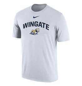 Nike Unisex White Wingate Standing Dog Drifit Cotton SS Tee