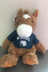 """Mascot Factory 9"""" Horse Cuddle Buddy Plush"""