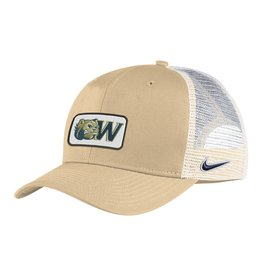 Nike Vegas Gold Dog Head W Patch Trucker Adjustable Hat