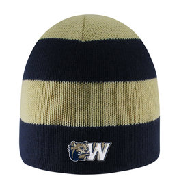 Logo Fit Columbia Rugby Striped Knit Beanie