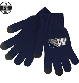 Logo Fit MD uText Knit Texting Gloves