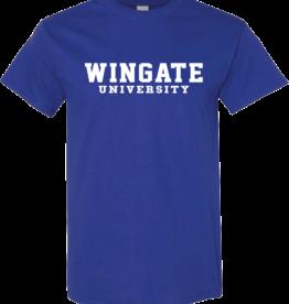 Gildan Cobalt Wingate University SS Tee