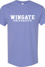 Gildan Violet Wingate University SS Tee