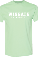 Gildan Mint Green Wingate University SS Tee