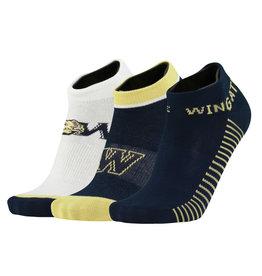 Twin City Knitting Value Low Cut Multi 3 Pack Socks