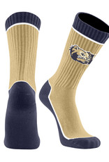 Twin City Knitting Core 2 Crewneck Dog Head W Vegas Gold Socks