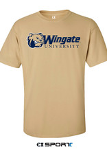 Gildan Vegas Dog Head Wingate University SS Tee