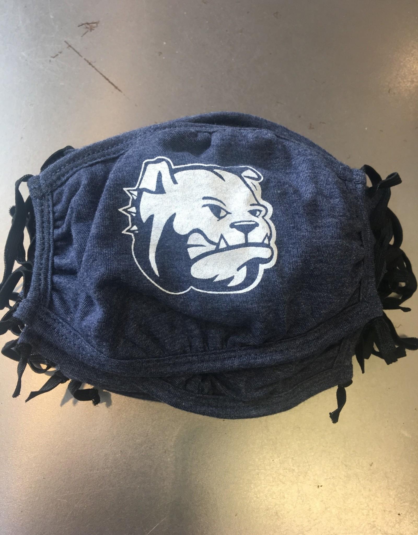 YOUTH Washable Navy Cotton Dog Head  Mask