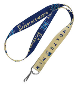 Wincraft Be A Difference Maker Lanyard Double Sided