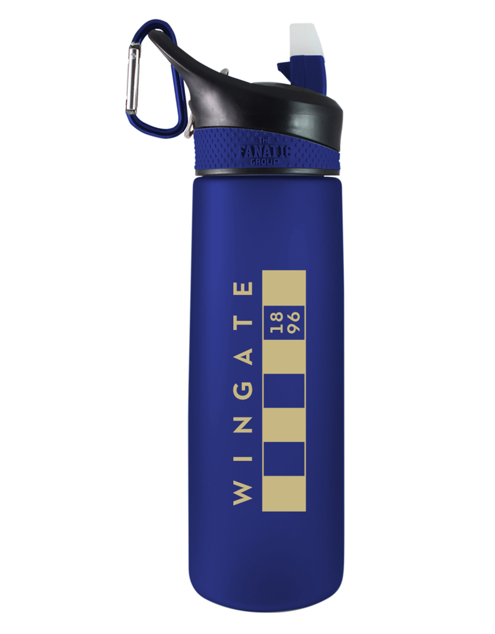 The Fanatic Group DROP SHIP 24oz Frosted Bullet Water Bottle Large Vegas Bar Flag (ONLINE ONLY)