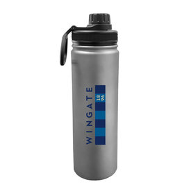 The Fanatic Group DROP SHIP 24oz Stainless Sport Bottle Navy Bar Flag (ONLINE ONLY)