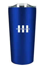 The Fanatic Group DROP SHIP 18oz Stainless Soft Touch Tumbler Tiny White Open Flag (ONLINE ONLY)