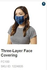 Legacy 3 Layer New Breathable Flag Mask Washable