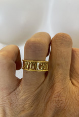 Chelsea Taylor Wingate 2 Hearts Gold Plated Ring Multiple Sizes