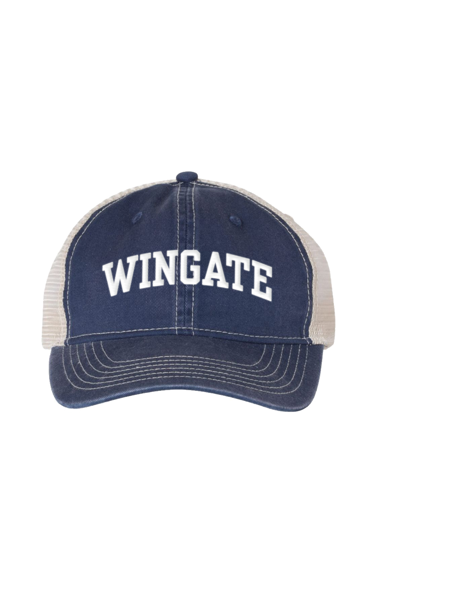 Comfort Colors Wingate Navy Trucker Mesh Back Relaxed Adjustable Hat