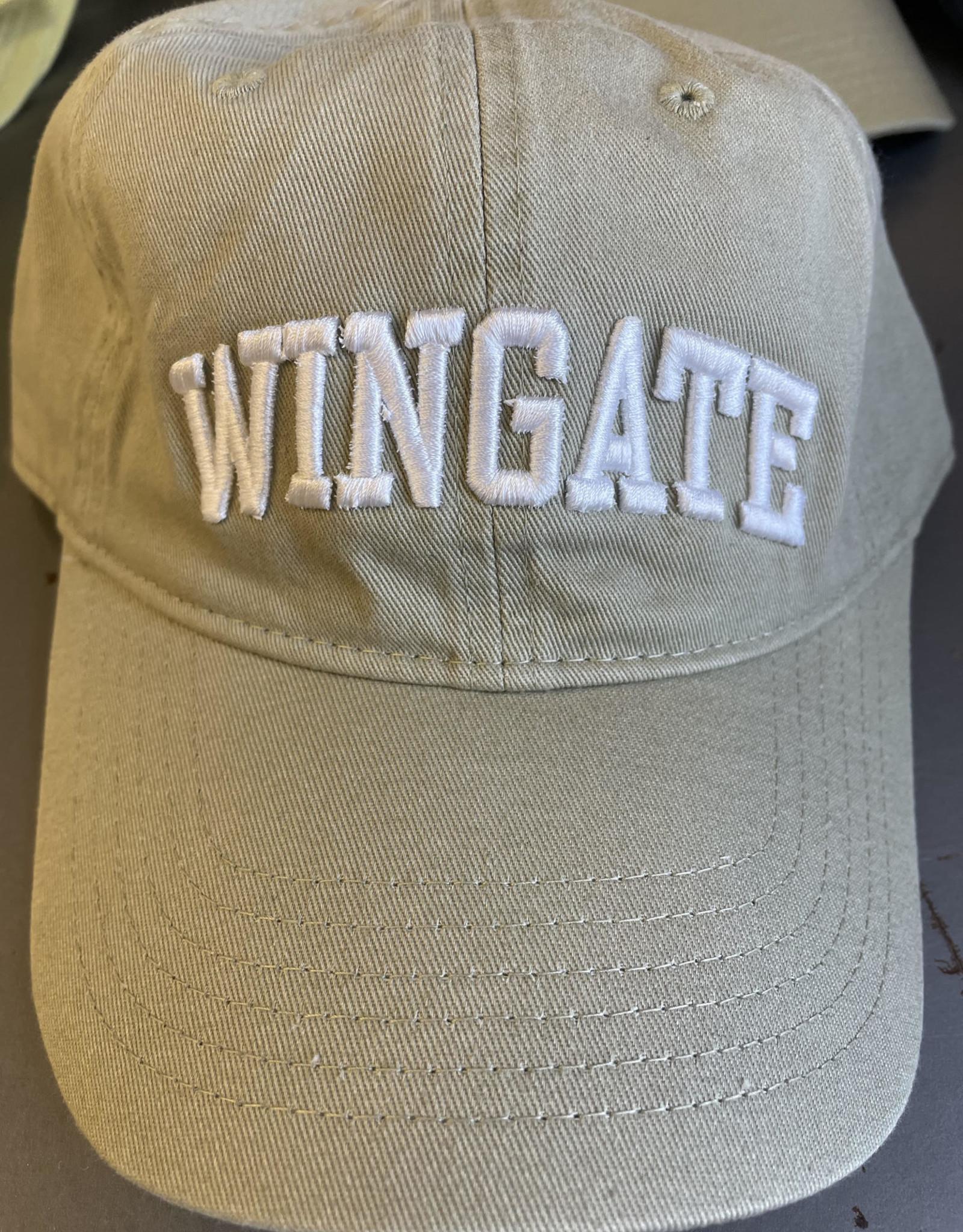 Comfort Colors Khaki Wingate Relaxed Adjustable Hat
