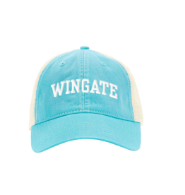 Comfort Colors Wingate Lagoon Blue Mesh Back Relaxed Adjustable Hat