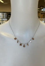 """Chelsea Taylor 16"""" Rose Gold plated W I N G A T E Sterling Silver CT925  Choker"""