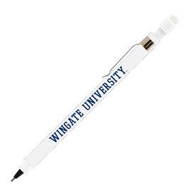 White Wingate University Mechanical Pencil