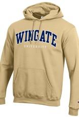 Champion Vegas Powerblend Fleece Wingate University Hoodie