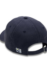 The Game Navy Adjustable W Half Dog Unstructured Hat