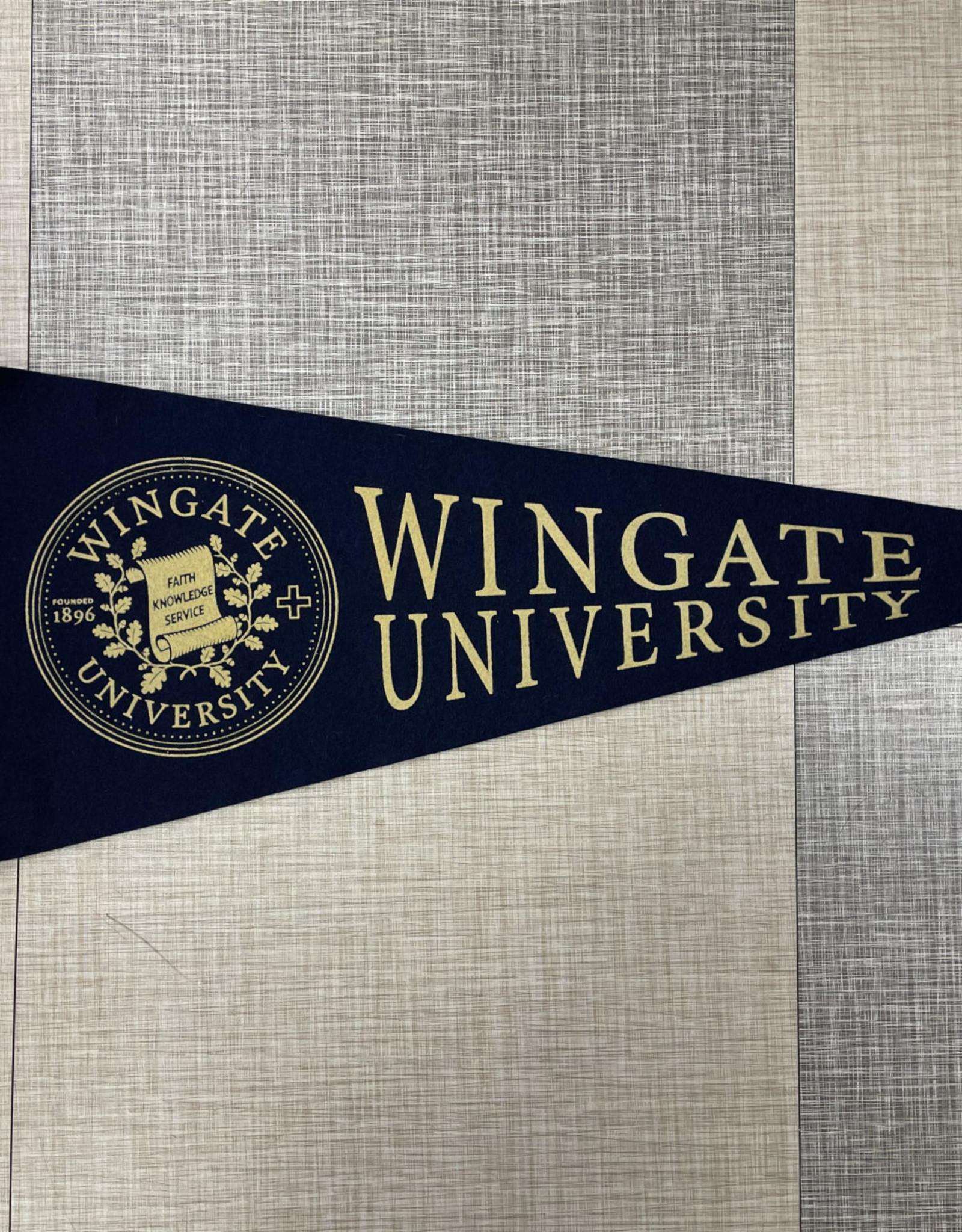 Wingate University Pennant 12 x 30