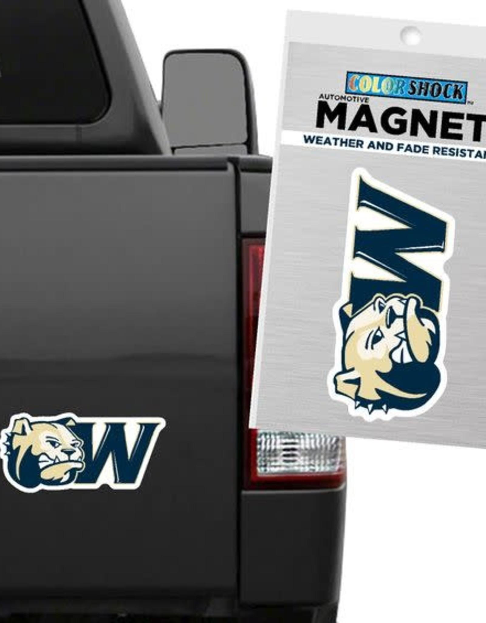 CDI 3 x 6 Dog Head W Magnet