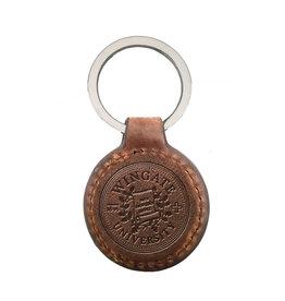 Westbridge Tan Leather Keyfob