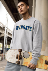 Champion Wingate Grey Embroidered Reverse Weave Crewneck