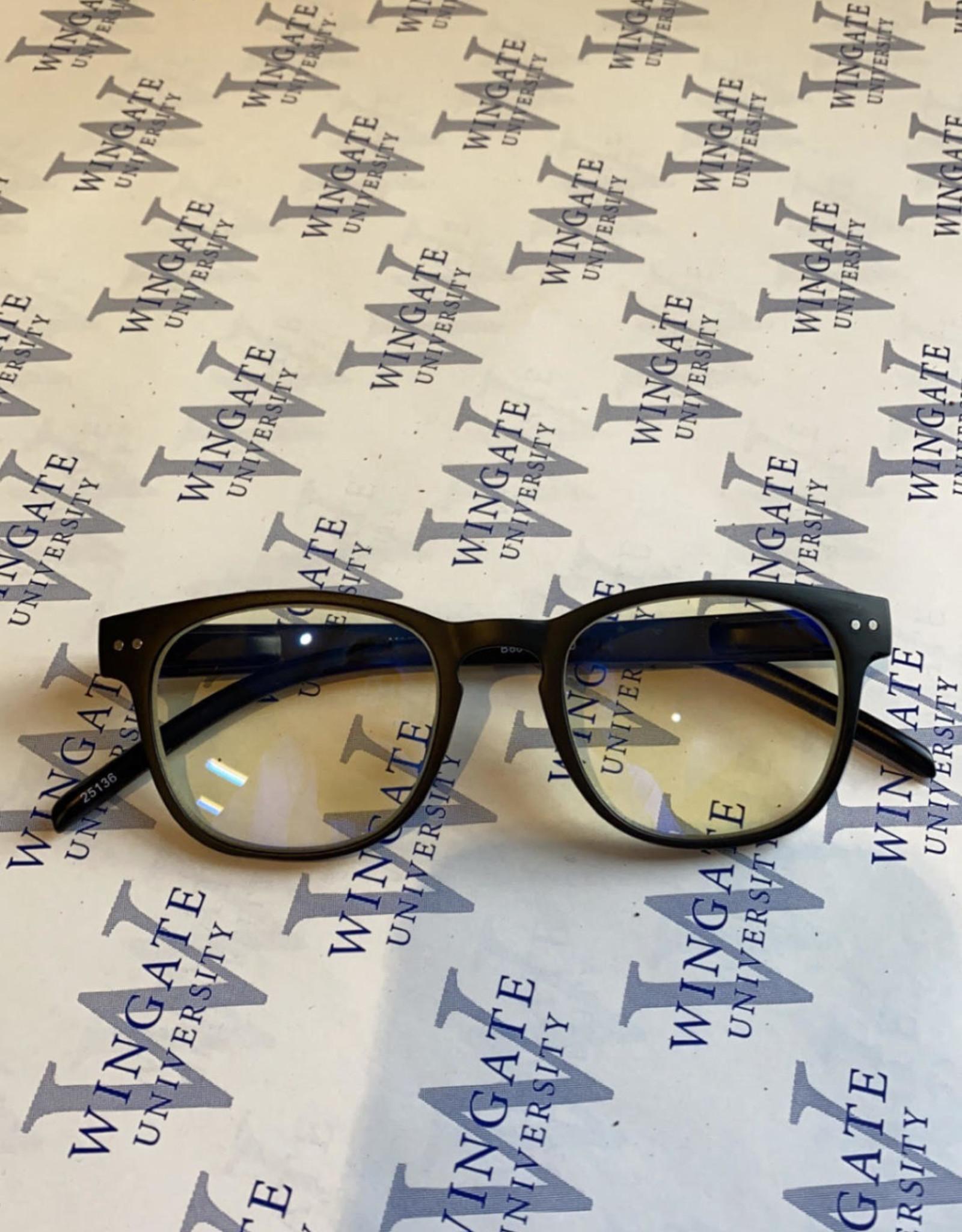 Black Frame Blue Light Block Glasses