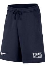 Nike Navy Club Fleece Short
