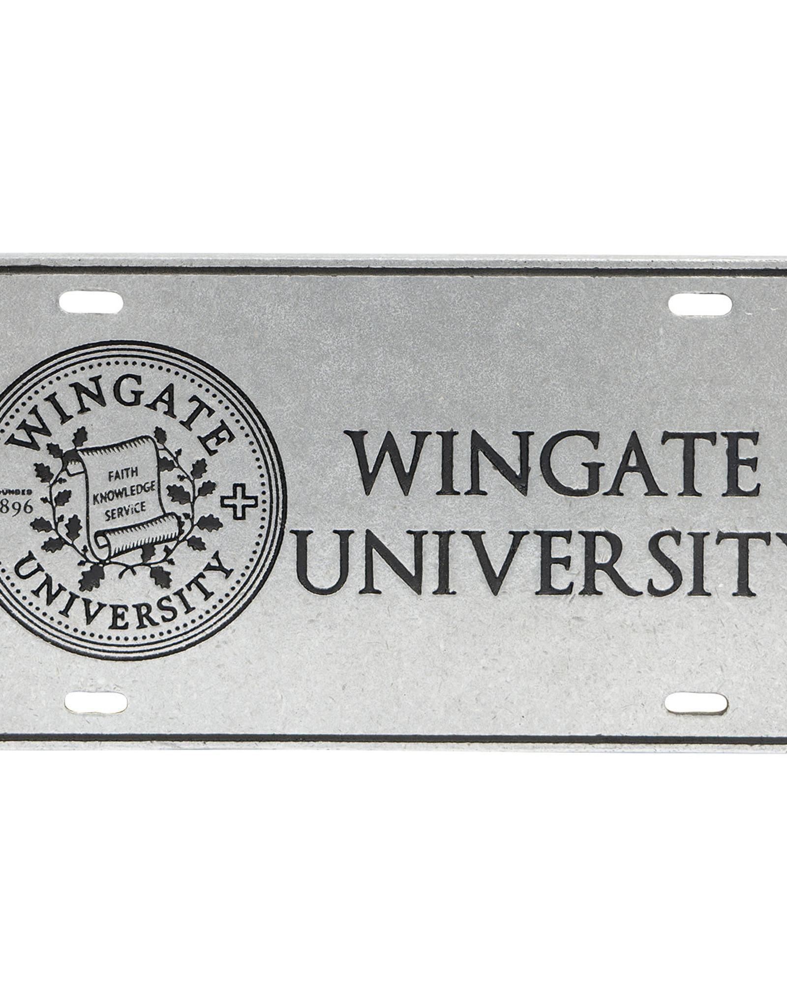 Jardine Wingate University New Seal Pewter License Plate