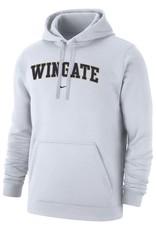 Nike White Wingate Club Fleece PO Hood