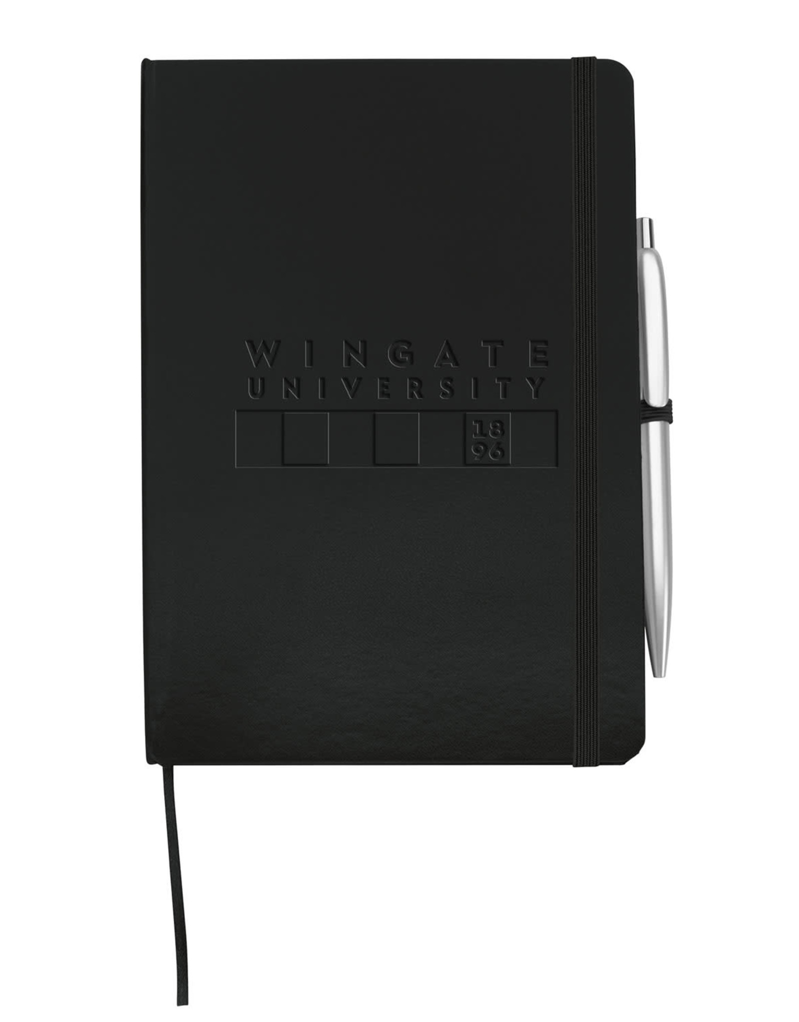 MCM Black Prime Journal With Pen Embossed Wingate Flag