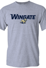 New Wingate over Full Dog Grey SS Tee