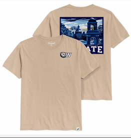 League Beige Stegall Image SS Tee