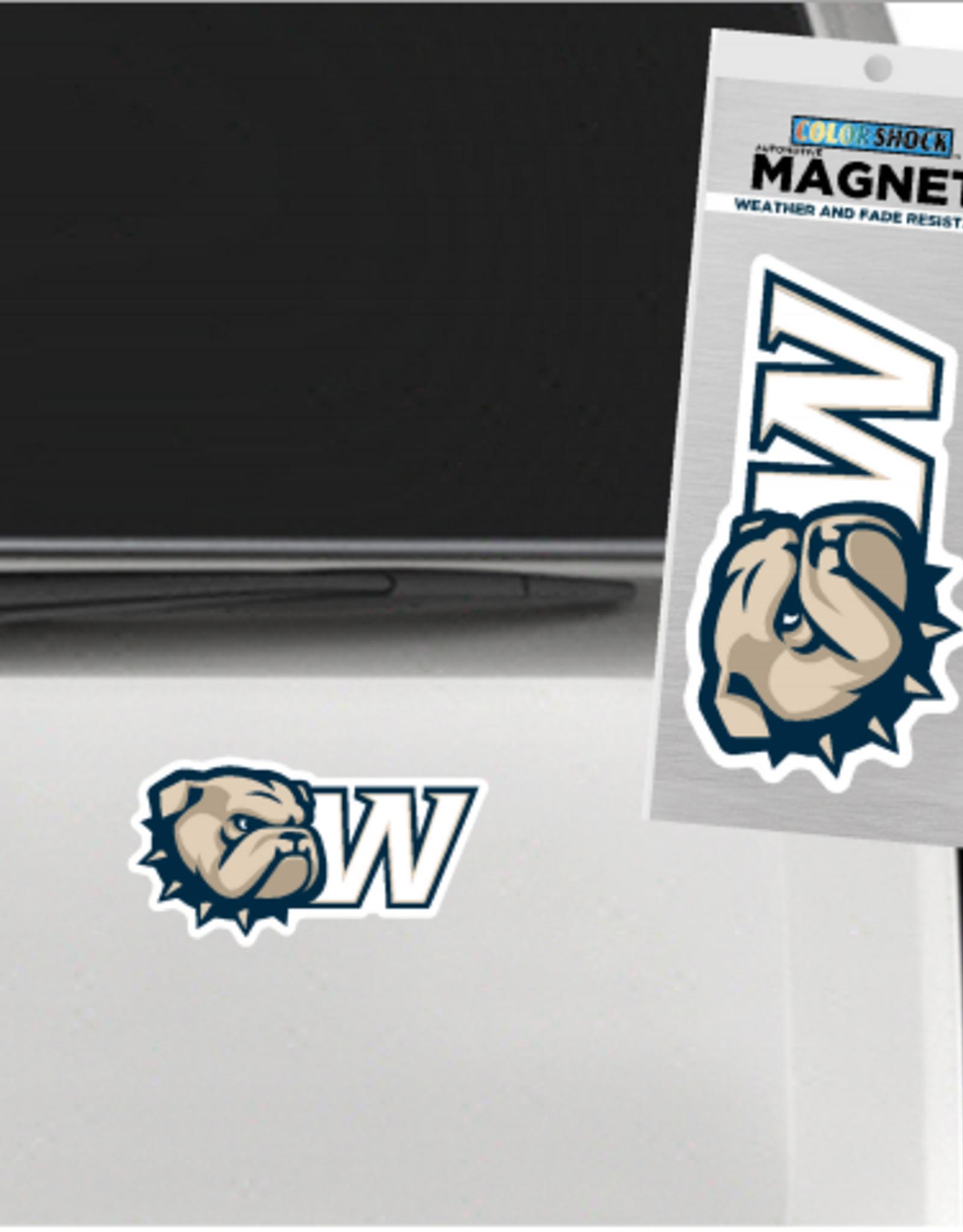 CDI 3 x 5 New Dog Head W Magnet