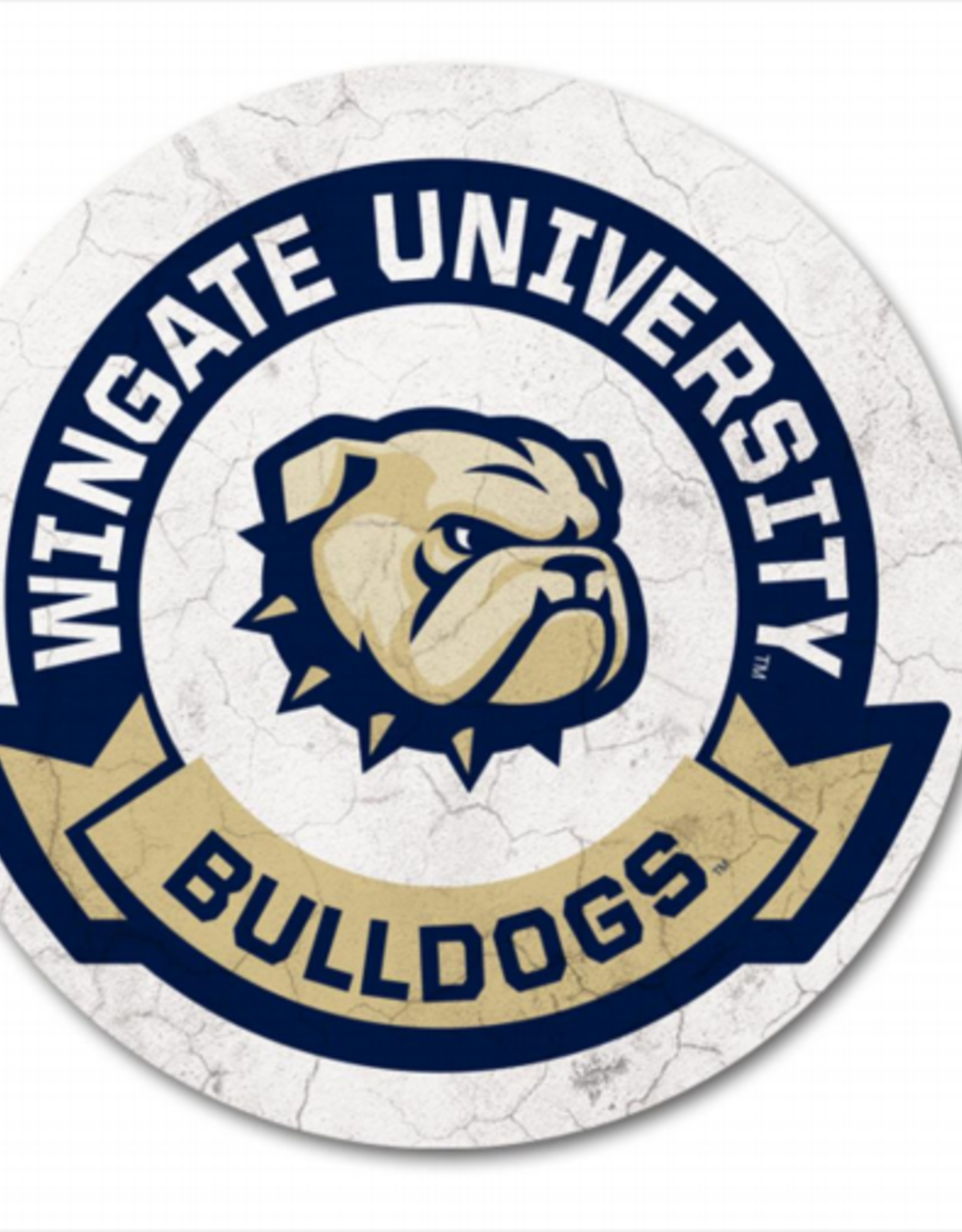 Legacy New Dog Head  WU Bulldogs Single Stone Coaster