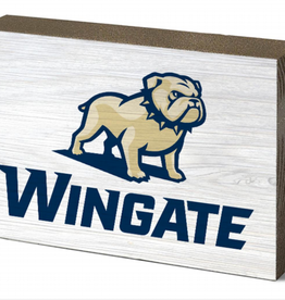 Legacy 3 x 5 New Full Dog Over Wingate Small Wooden Block